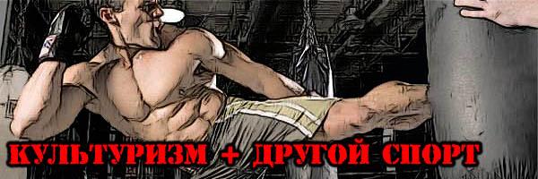 КУЛЬТУРИЗМ + другой вид СПОРТА - Денис Борисов
