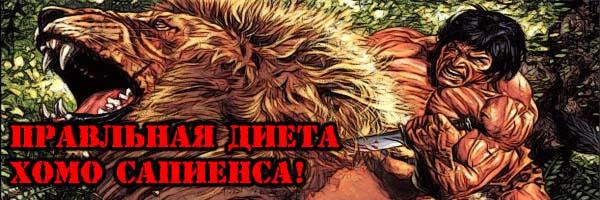 ПРАВИЛЬНАЯ ДИЕТА ХОМО САПИЕНСА - Денис Борисов