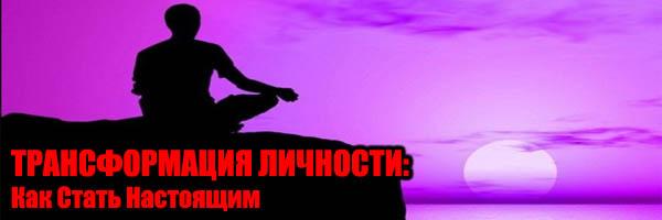 Трансформация Личности (Как стать настоящим) - Денис Борисов