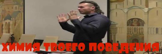 """Семинар Борисова в Питере """"ХИМИЯ ТВОЕГО ПОВЕДЕНИЯ"""" - Денис Борисов"""
