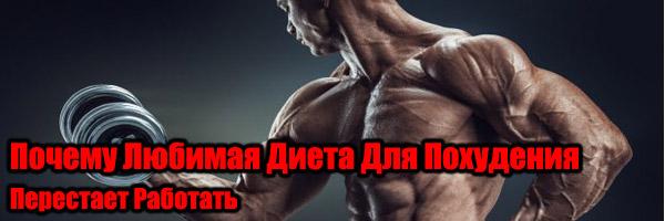 Почему Любимая Диета Для Похудения Перестает Работать - Денис Борисов
