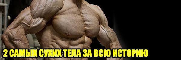 Два самых СУХИХ ТЕЛА за всю историю БодиБилдинга - Денис Борисов