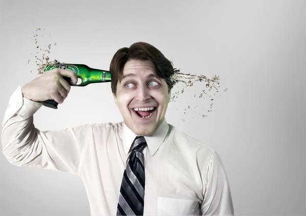 алкоголь(пиво) убивает