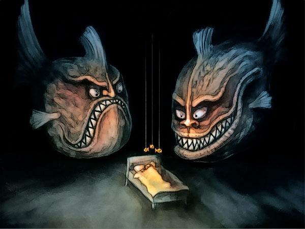 страшные сны - кошмары