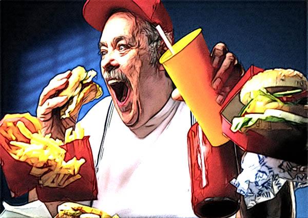 вкусная пища разрушает тело
