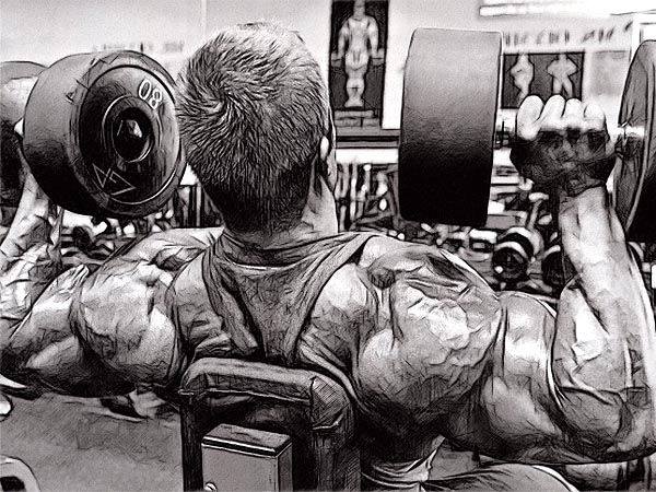 всегда стремитесь утяжелить работу мышце, а не облегчить ее.