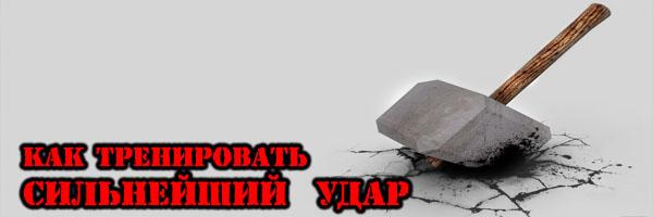 Как тренировать сильнейший удар рукой - Денис Борисов