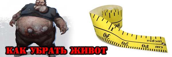 Как Убрать ЖИВОТ? - Денис Борисов