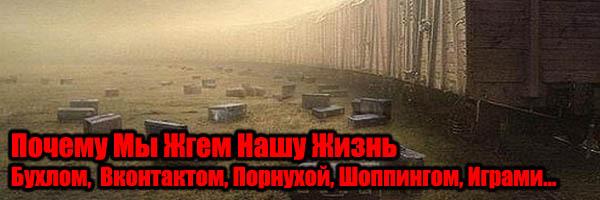 Почему Мы Жгем Нашу Жизнь Вконтактом, Бухлом, ТВ и т.д. - Денис Борисов