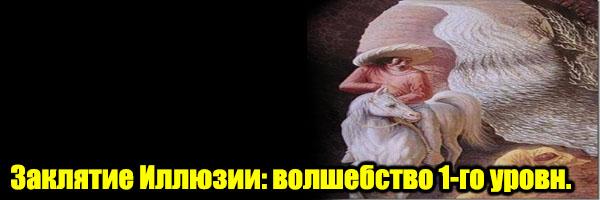 Волшебство 1-го уровня: Заклятие Иллюзии - Денис Борисов